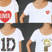 One Direction Crop top