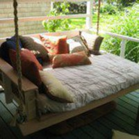 spaces / Porch Swing Bed
