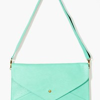 Colette Envelope Clutch - Mint