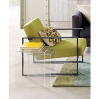 CB2 - peekaboo clear nesting tables