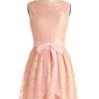 Looking Like a Million Bucks Dress in Blush | Mod Retro Vintage Dresses | ModCloth.com