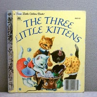 The Three Little Kittens Little Golden Book