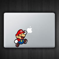 "Mario 13"" Macbook Decal Macbook Sticker Air Pro Vinyl Decal Sticker Skin for Apple Laptop"