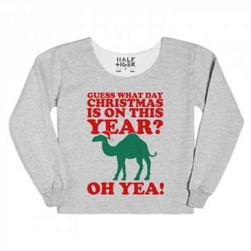 Guess What Day Christmas is on this Year?-White/Evergreen T-Shirt