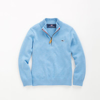 Shop Harbor Point 1/4-Zip Sweater at vineyard vines