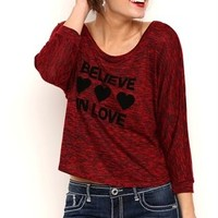 High Low Dolman Sleeve Top with Lace Panel Back