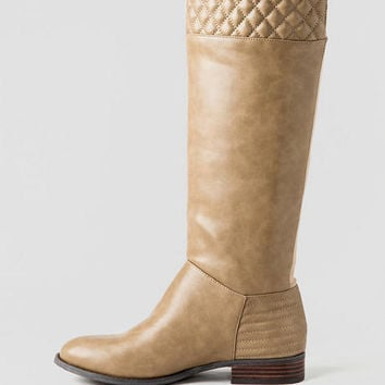 Fallout Quilted Riding Boot