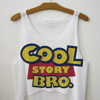 Cool Story Bro Crop Top
