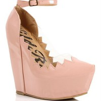 Blush Starburst Wedges