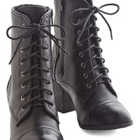 No Place Stride Rather Be Boot in Black