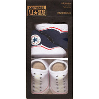 River Island Mini boys navy Converse booties