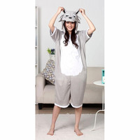 Gray Cute Wolf Pattern Cotton Kigurumi Costume Animal Pajamas Disney Fancy Dress Costumes [C20120731] - £29.31 : Zentai, Sexy Lingerie, Zentai Suit, Chemise