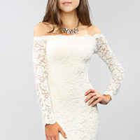 Lacy Slimfit Dress