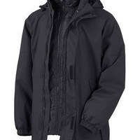 Mens Outer Jacket | Buy Polyester Devon & Jones 3-In-1 Systems Jacket