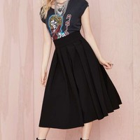 You Compleat Me Skirt - Black