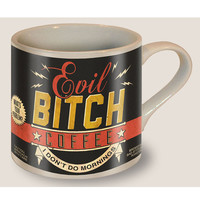 Black Evil Bitch Coffee Mug