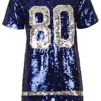 **'80s Baby Sequin Dress by Jovonna - Dresses - Clothing