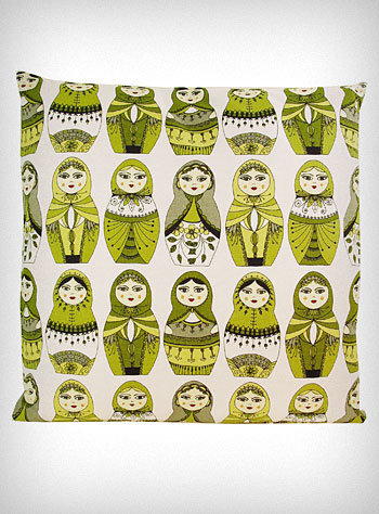 Matryoshka Multiplicity Pillow | PLASTICLAND