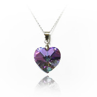 Swarovski Crystal&amp;Sterling Silver Necklace