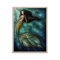 "Mandie Manzano ""Mermaid"" KESS Naturals Canvas (Frame not Included)"