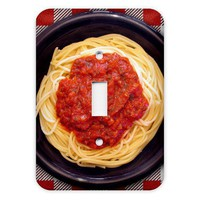 Spaghetti Light Switch Plate Cover by abethepunk on Etsy