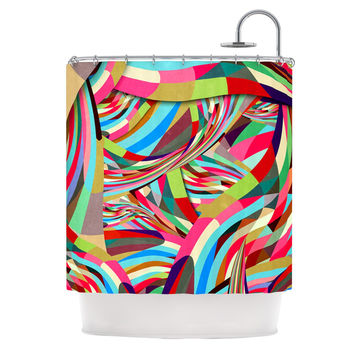 "Danny Ivan ""Fun"" Shower Curtain - 69"" x 70"" / Polyester"