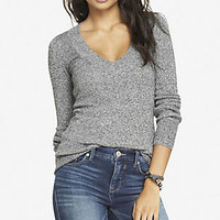 SEQUIN NYC GRAPHIC TUNIC SWEATER from EXPRESS