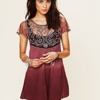 Free People Embellished Palms Tunic