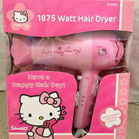 CUTE HELLO KITTY Hair Dryer NEW!!