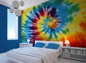 about tie dye wall - photo #43