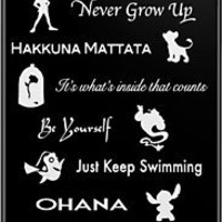 Disney lessons learned (White) iPhone & iPod Cases