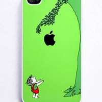 iPhone 4 and iPhone 4s Case Cover,giving tree with an apple