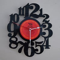 Vinyl Record Album Wall Clock (artist is Billy Joel)