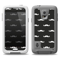 The Mustache Galore Samsung Galaxy S5 LifeProof Fre Case Skin Set