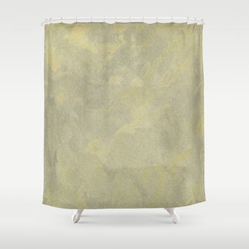 Champagne Skies Shower Curtain by Corbin Henry