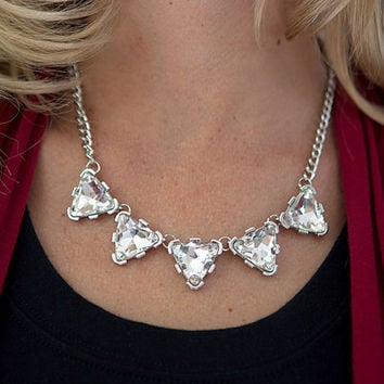 Crystal Amour Statement Necklace