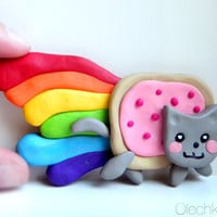 Nyan Cat LARGE Magnet