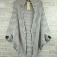 Upset Shawl Type Sweater $39.00