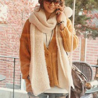 Orange Candy Bat Type Sweater $39.00