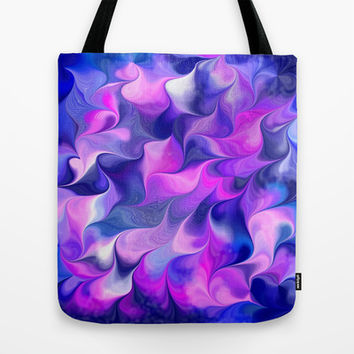 Feathers in Motions Tote Bag by Artful Sprinkles