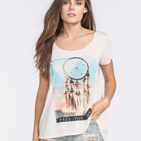 H.I.P. Dream Catcher Womens Tee Oat  In Sizes
