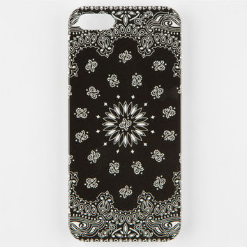 Bandana Iphone 5/5S Case Black One Size For Men 25219910001