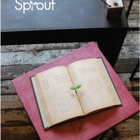 """Sprout"" Sprouting Bookmark"