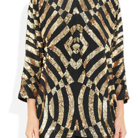 Faith Connexion | Sequined silk top | NET-A-PORTER.COM