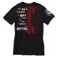 You Gonna Quit?   Firefighter Apparel   Firefighter Clothing I Motivational Tee by Fireman Up   Fireman Up