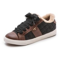 Oliver Flannel Sneakers