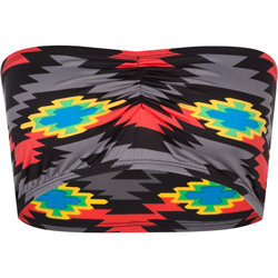 Neon Tribal Bandeau