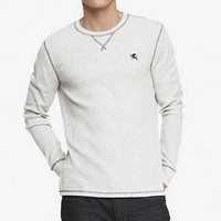 MARLED SMALL LION THERMAL TEE from EXPRESS