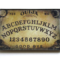 Ouija Board Petite Glass Tray By GustavoAlonso