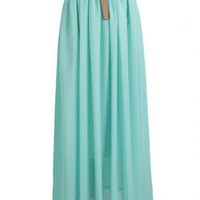 Long Chiffon Skirt - 1